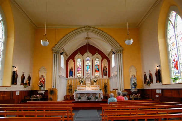 Catholic church of St. Finian's, Newcastle Lyons, County Dublin