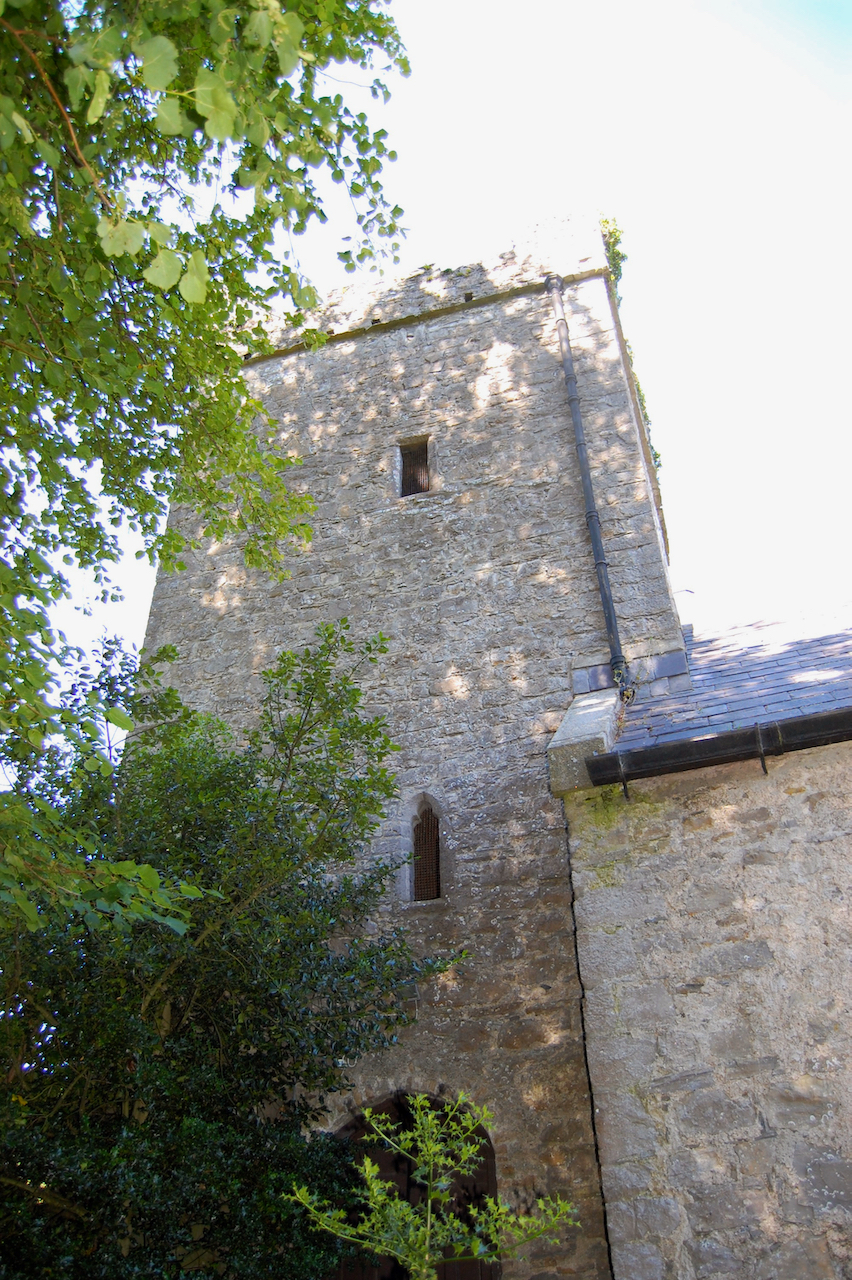tower from St John's period on church of St Finian's, Newcastle Lyons