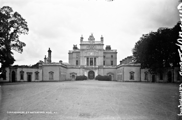 nli curraghmore house waterford