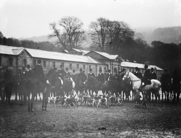 the Hunt, Curraghmore House